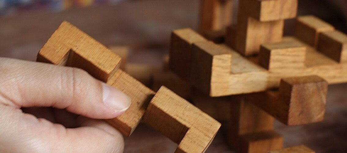 Wooden Locking Puzzles