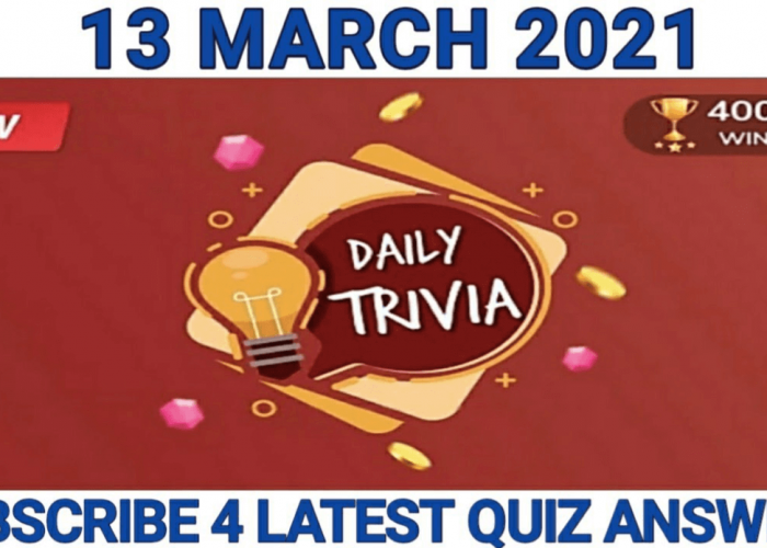 Daily Trivia Quiz Answers Today